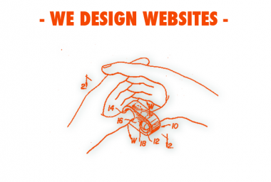 We design websites