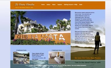 vacation rental website cabo san jose, mexico