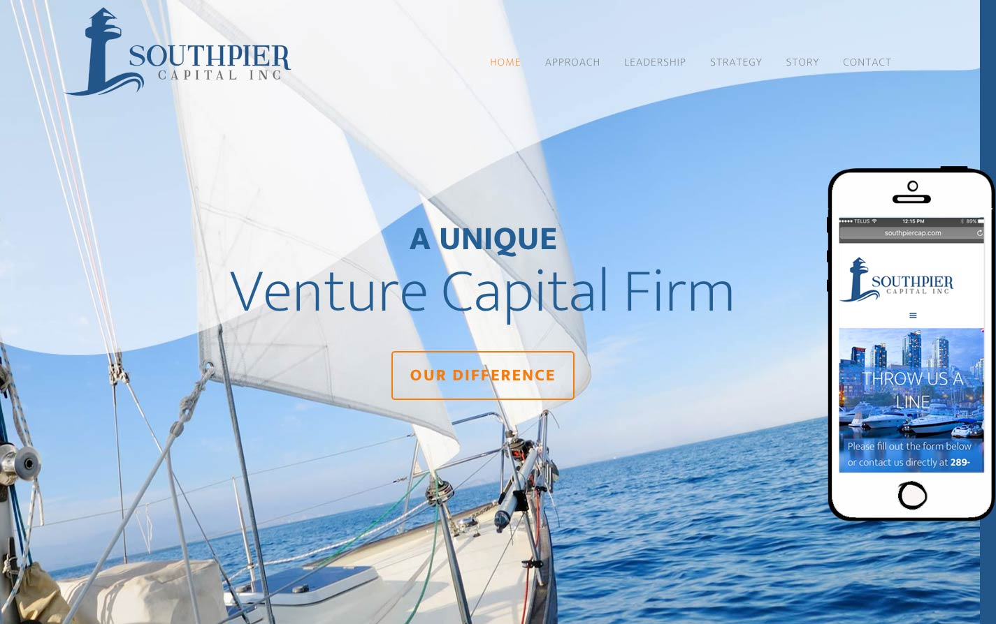 SOUTHPIER CAPITAL Website