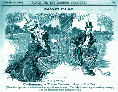 Wireless ideas have been around since 1906