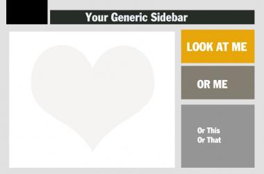 Generic Sidebar