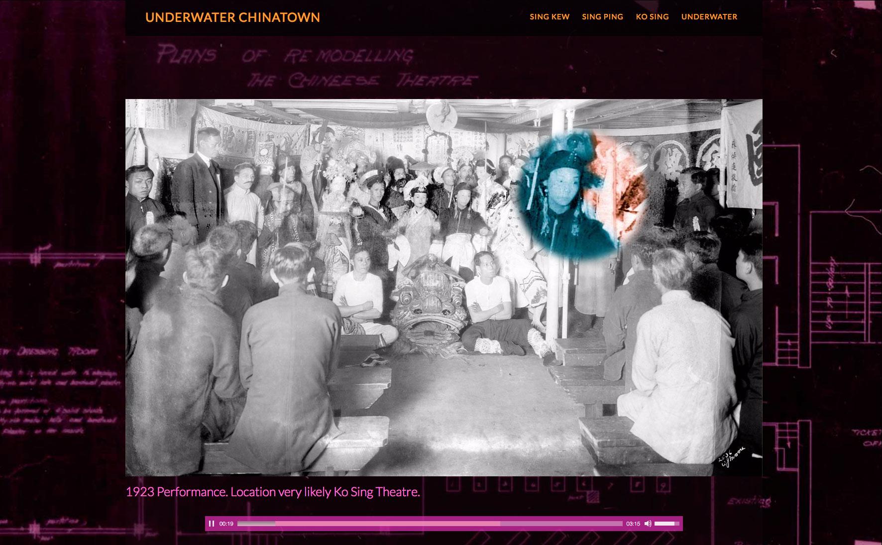 Underwater Chinatown - Sing Ping Evidence